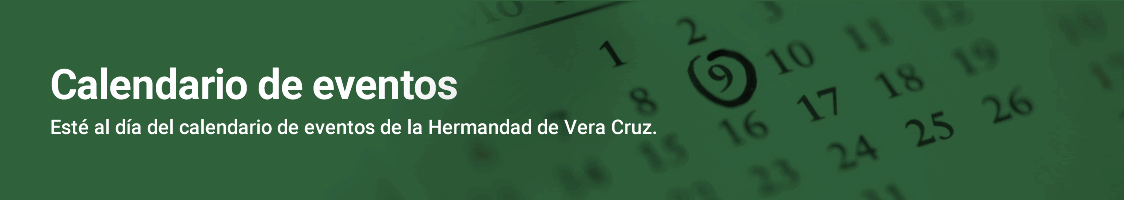 Calendario Hermandad de Vera Cruz de Ronda
