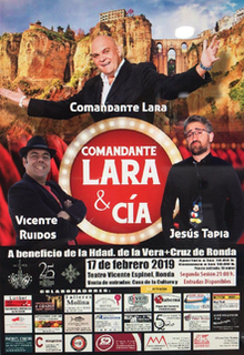 """Espectáculo de humor """"Comandante Lara & Cia"""" @ Teatro Vicente Espinel"""